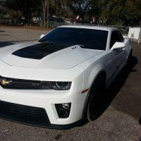 camero window tint