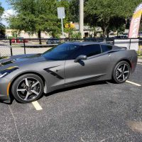 corvette window tint