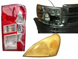 headlight and tail light replacements