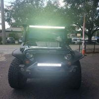 Jeep lightbar