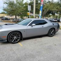 window tint dodge charger